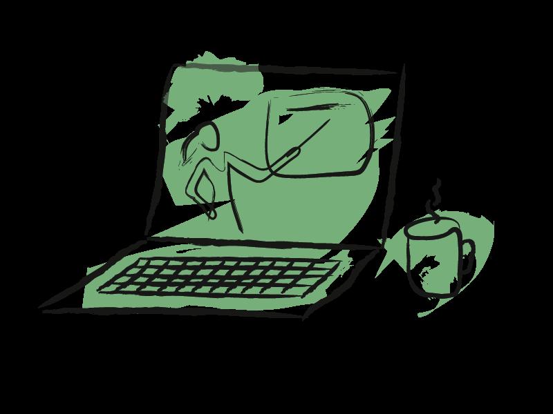 Icoon voor Online dienstverlening